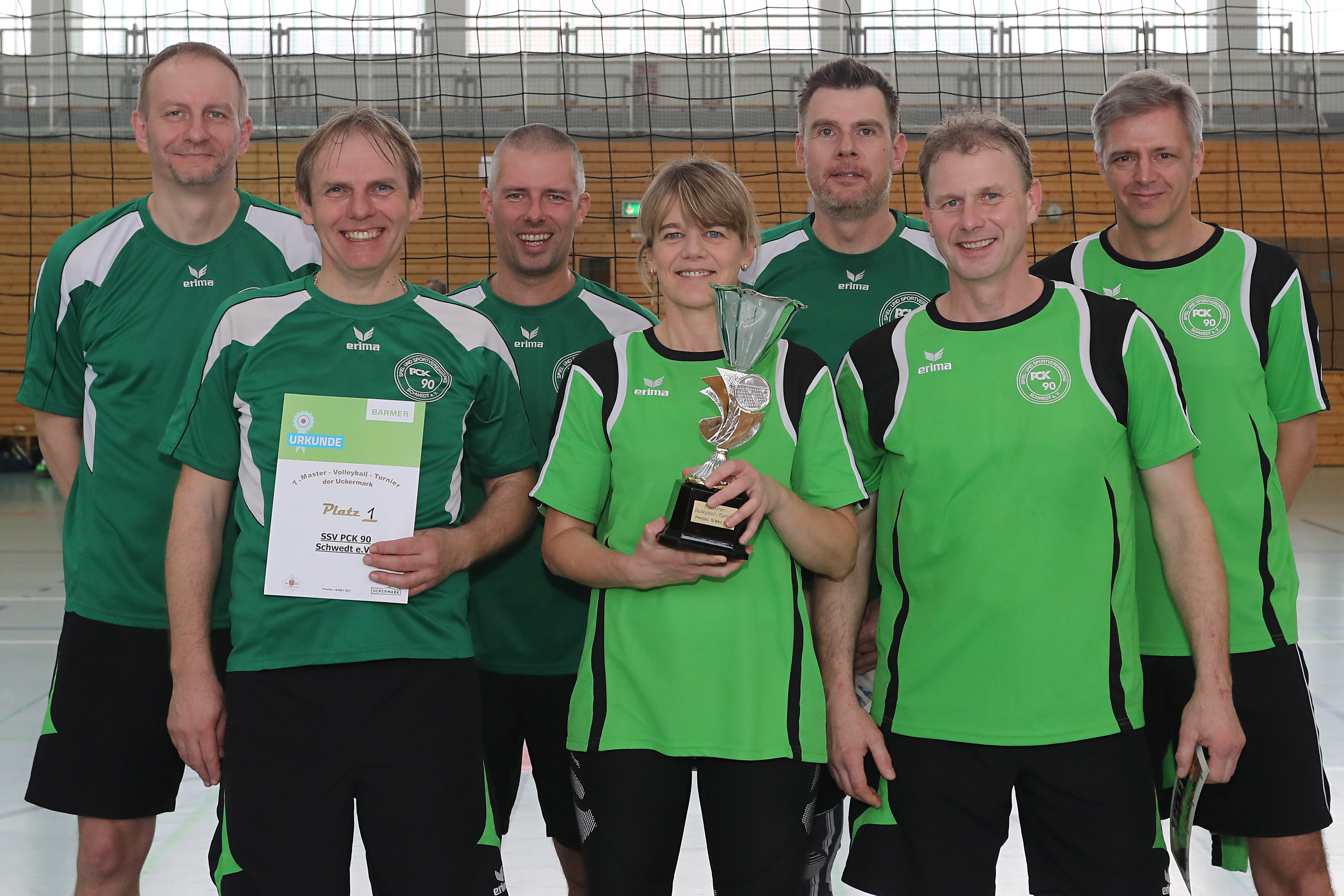 Volleyball 7. Uckermark-Masters-Turnier der KSB Quelle: UM-Sportbilder